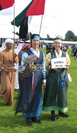 Falconers from Korea