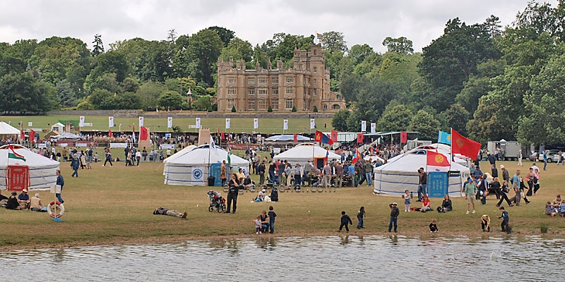 Englefield Estate,  Festival of Falconry