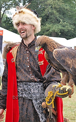 Sights from the  Festival of Falconry