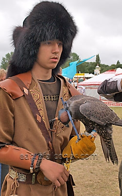 Kazakhstan at the  Festival of Falconry