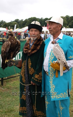 Kazakh Falconry, Festival of Falconry
