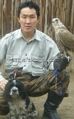 Otgon, Mongolian Falconer