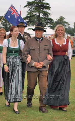 Austrian Falconer,  Festival of Falconry