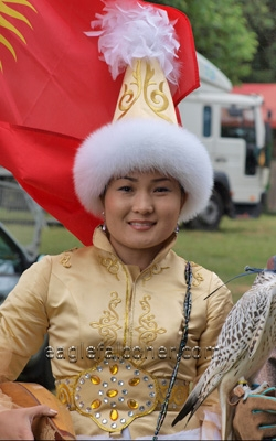 Chapayev Anna  Festival of Falconry