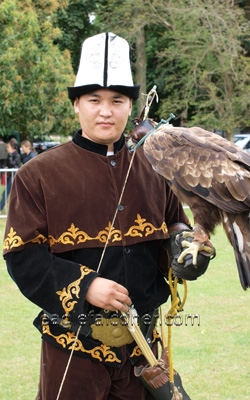 Kyrgyz falconer,  Festival of Falconry